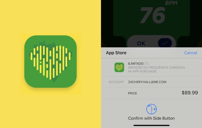 App lua dao tren iPhone du nguoi dung do nhip tim voi gia 90 USD hinh anh 1