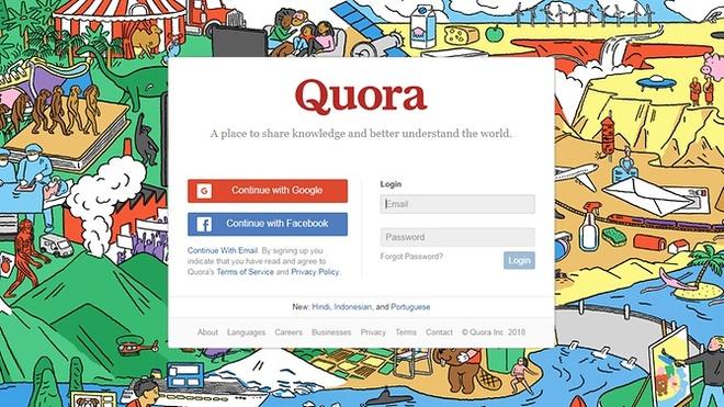 Trang hoi dap Quora bi tan cong, 100 trieu nguoi dung anh huong hinh anh 1