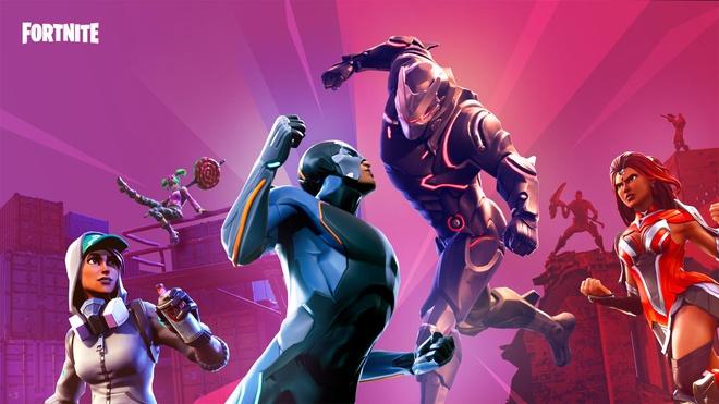 Fortnite được phát hành miễn phí, tuy nhiên để mua các trang bị trong game, người chơi cần nạp tiền để đổi sang V-bucks. Ảnh: Epic Games.