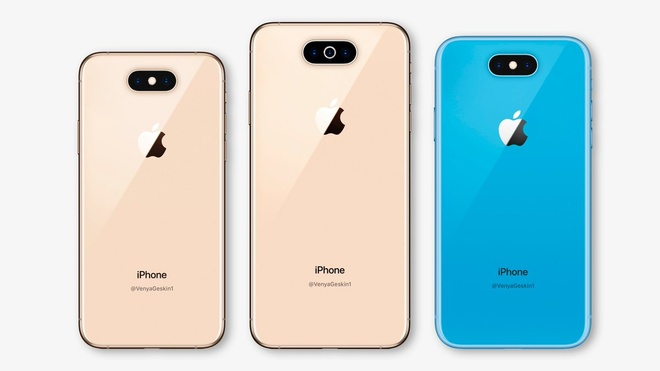 Day se la thiet ke cua ba mau iPhone 2019? hinh anh