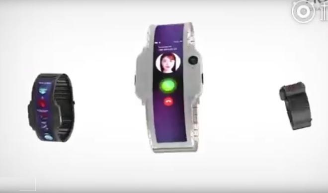 Smartwatch man hinh gap dau tien chuan bi ra mat hinh anh 1