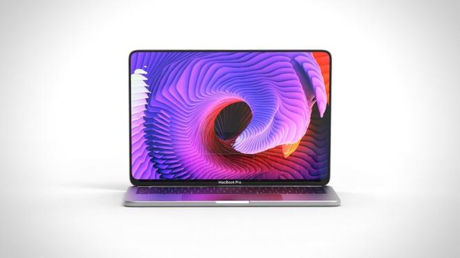 Concept MacBook Pro voi man hinh tran vien, ho tro Face ID hinh anh 1