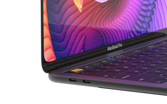 Concept MacBook Pro voi man hinh tran vien, ho tro Face ID hinh anh 3