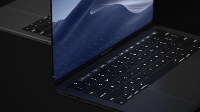 Concept MacBook Pro voi man hinh tran vien, ho tro Face ID hinh anh 5