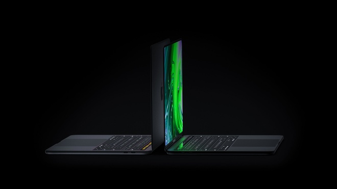 Concept MacBook Pro voi man hinh tran vien, ho tro Face ID hinh anh 8