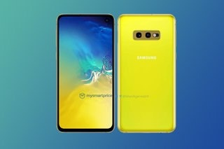 Galaxy S10e se co mau vang, canh tranh voi iPhone XR hinh anh