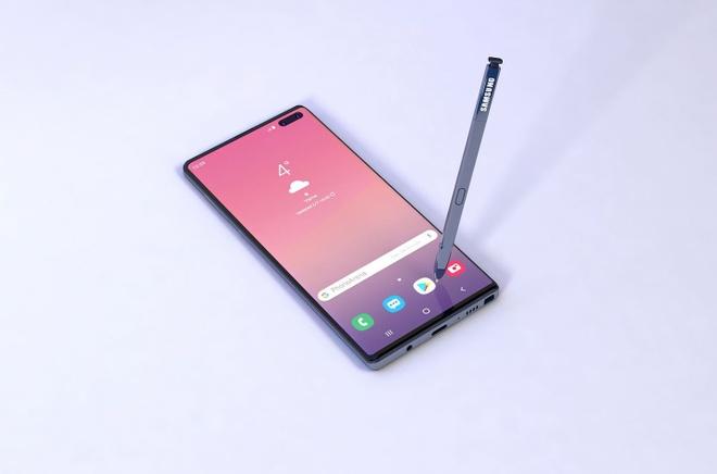 Ban dung Galaxy Note 10 voi 6 camera, man hinh Infinity-O hinh anh 5