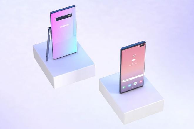 Ban dung Galaxy Note 10 voi 6 camera, man hinh Infinity-O hinh anh 6