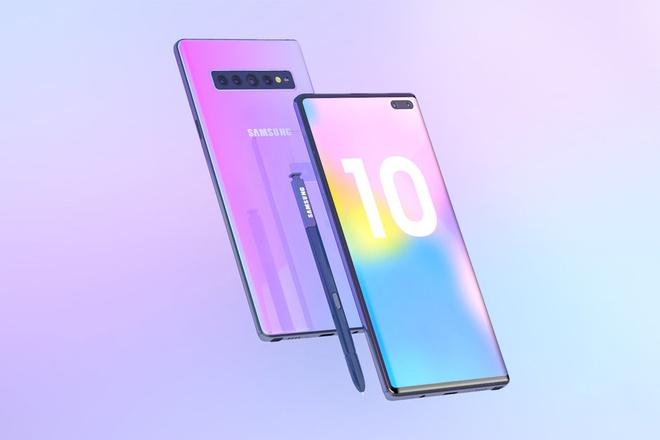 Ban dung Galaxy Note 10 voi 6 camera, man hinh Infinity-O hinh anh 7