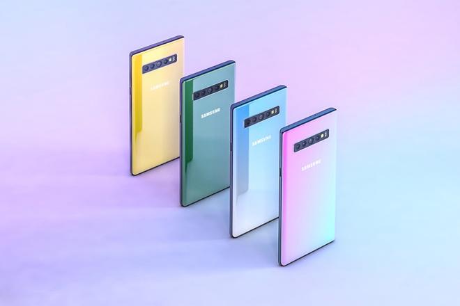 Ban dung Galaxy Note 10 voi 6 camera, man hinh Infinity-O hinh anh 8
