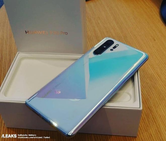 Huawei P30 Pro lo anh thuc te - 4 camera, van tay duoi man hinh hinh anh 2