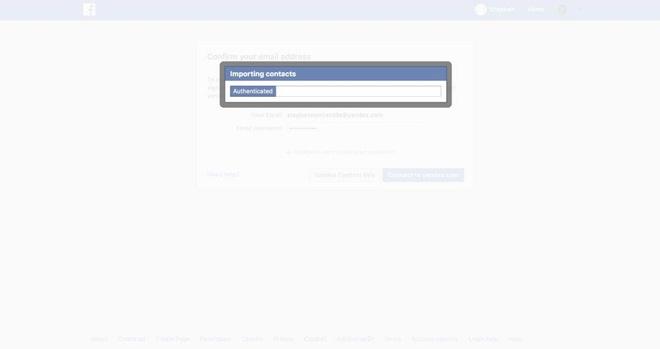 Facebook 'vo tinh' thu thap 1,5 trieu lien he cua nguoi dung qua email hinh anh 1