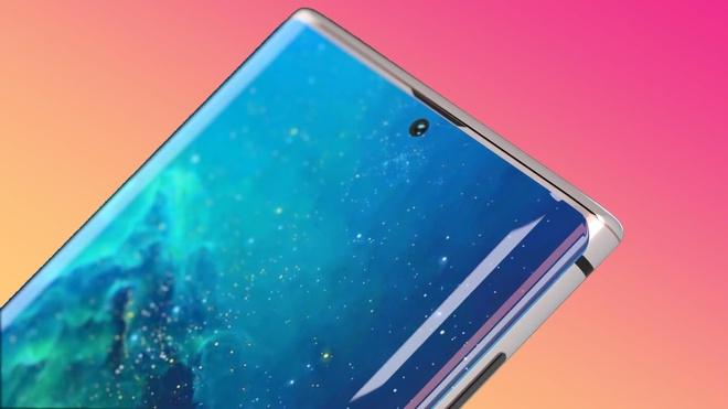 Ban dung Galaxy Note 10 voi man hinh tran vien, 4 camera hinh anh