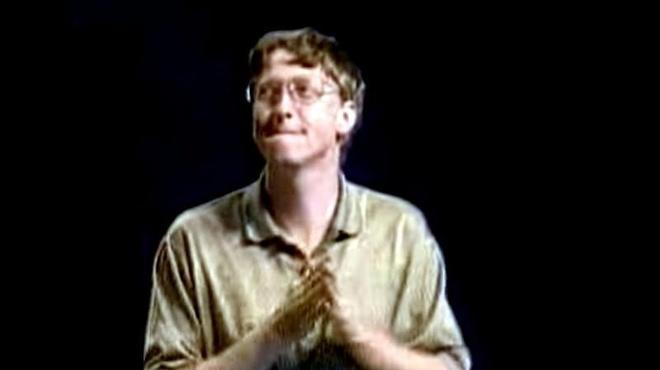 Dieu nhay 'con ga' than thanh cua Bill Gates ra mat Windows 95 hinh anh
