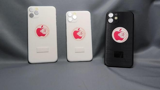Mo hinh 3 chiec iPhone 2019 hinh anh