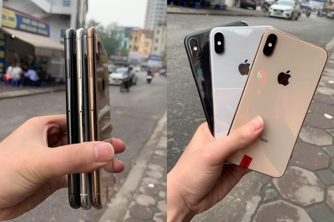 iPhone XS cu ve VN voi muc gia 'tren troi' hinh anh 1