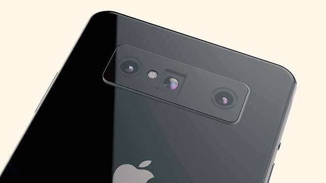 Ban dung iPhone Pro - camera selfie an duoi man hinh, van tay sieu am hinh anh 4