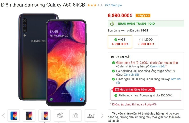 Dien Thoai Sieu Re cua TGDD chi ban smartphone duoi 8 trieu hinh anh 1