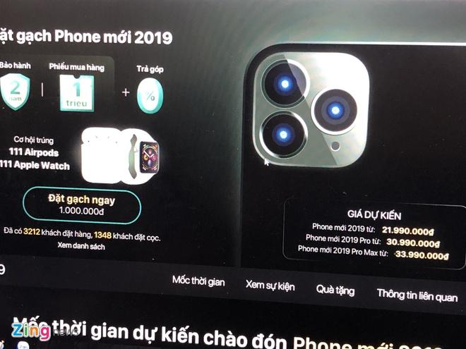 Nha ban le Viet 'len lut' nhan dat truoc iPhone 11, khong dam goi ten hinh anh 1