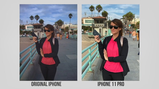 so sanh camera iPhone 11 Pro va iPhone 2G anh 7