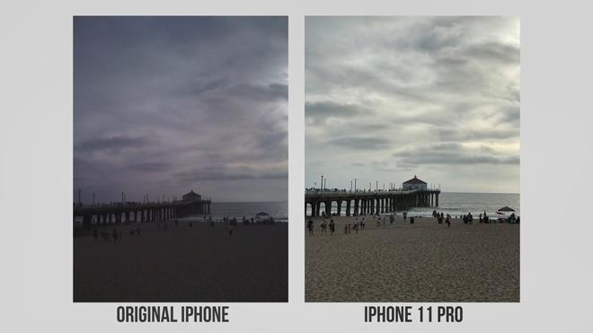 so sanh camera iPhone 11 Pro va iPhone 2G anh 4