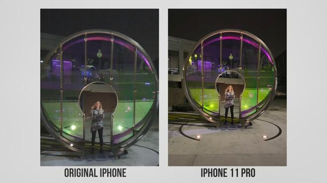 so sanh camera iPhone 11 Pro va iPhone 2G anh 8