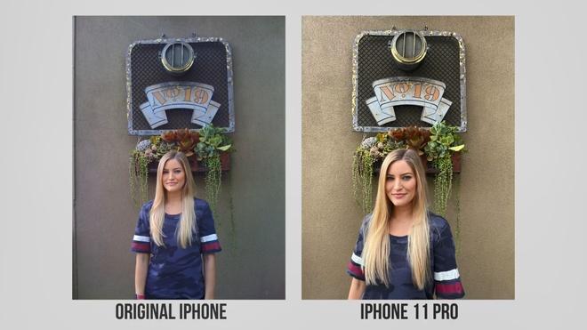so sanh camera iPhone 11 Pro va iPhone 2G anh 2