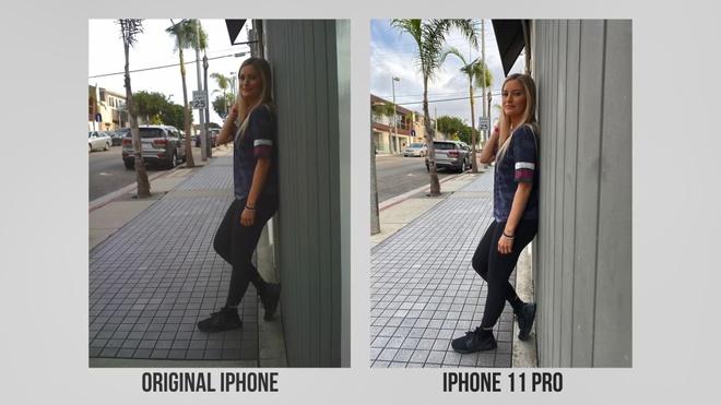 so sanh camera iPhone 11 Pro va iPhone 2G anh 3