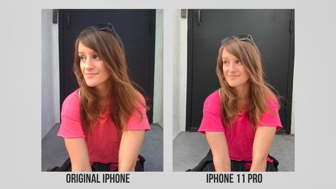 so sanh camera iPhone 11 Pro va iPhone 2G anh 6