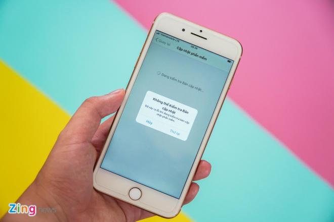 loi cap nhat iOS 13.1 anh 1