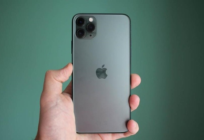 gia ban iPhone 11 Pro Max Midnight Green anh 2