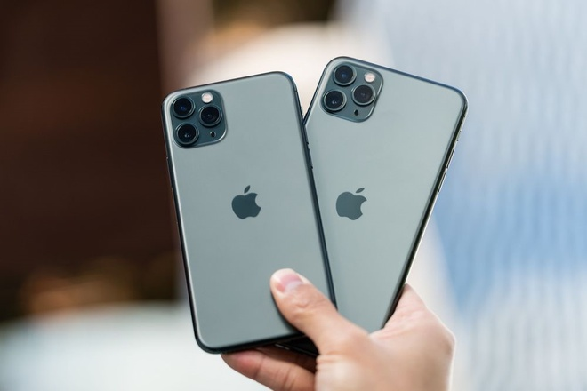 gia ban iPhone 11 Pro Max Midnight Green anh 1