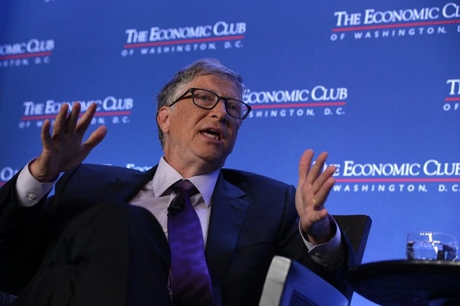 Ben trong chiec tui bat ly than cua Bill Gates chua gi? hinh anh 1