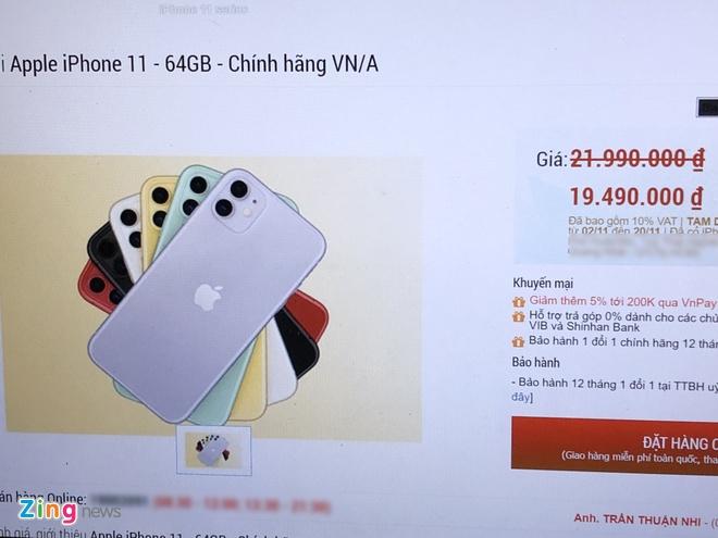 Nguoi Viet mua duoc iPhone 11 chinh hang re hon vai trieu hinh anh 2