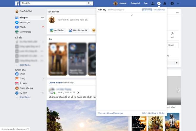 Nhieu nguoi Viet khong the truy cap Facebook Messenger hinh anh 1