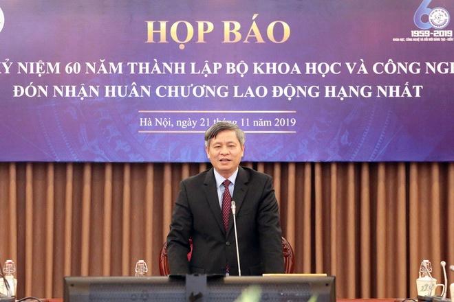 Ky niem 60 nam thanh lap Bo Khoa hoc va Cong nghe hinh anh 1