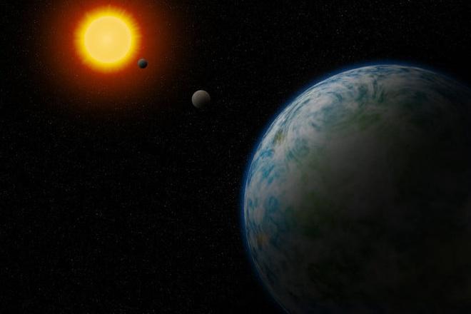 Phat hien 2 sieu Trai Dat co the ton tai su song hinh anh 1 gj180_exoplanet_illustration_768x496.jpg