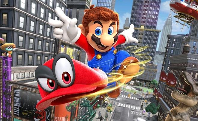 10 tua game danh cho gia dinh cung choi trong ngay Tet hinh anh 1 Super_Mario_Odyssey_1.jpg