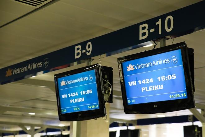 Vietnam Airlines khai thac tro lai cac chuyen bay di Pleiku hinh anh