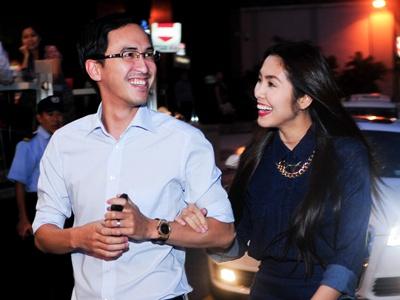 Vo chong Tang Thanh Ha tinh cam di tiec hinh anh