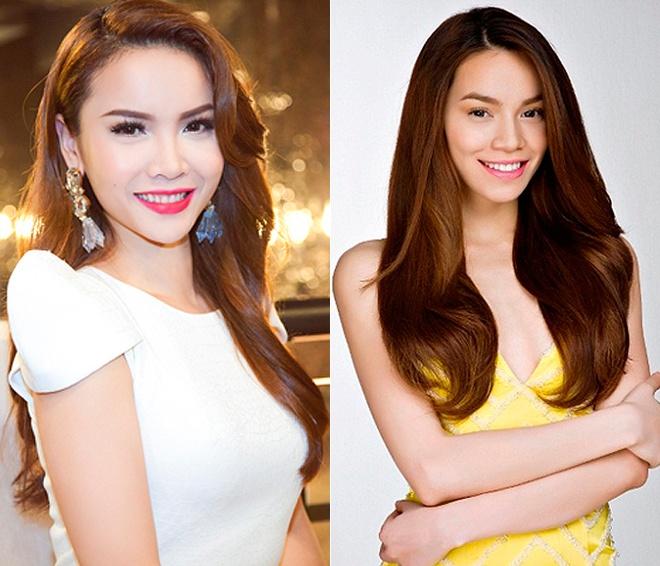Yen Trang thay Ho Ngoc Ha ngoi 'ghe nong' cuoc thi nhay hinh anh 1