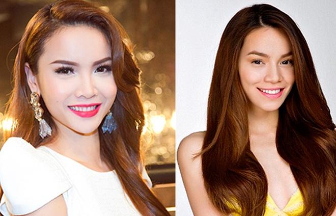 Yen Trang thay Ho Ngoc Ha ngoi 'ghe nong' cuoc thi nhay hinh anh