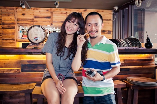 Tien Dat khong muon ban gai hot girl Han tham gia showbiz hinh anh