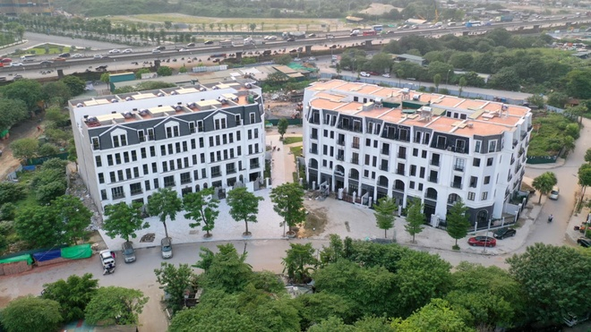 Biệt thự liền kề giá từ 6 tỷ đón đường hướng tâm mới của Hà Nội