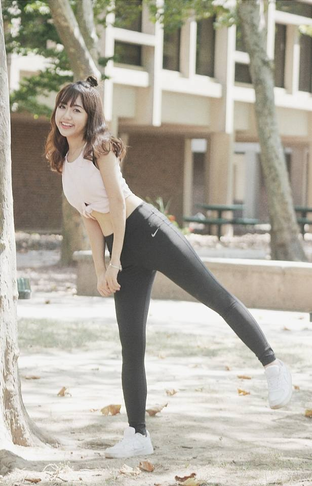 Tap vong ba 96 cm cua Vu Quynh Anh anh 1