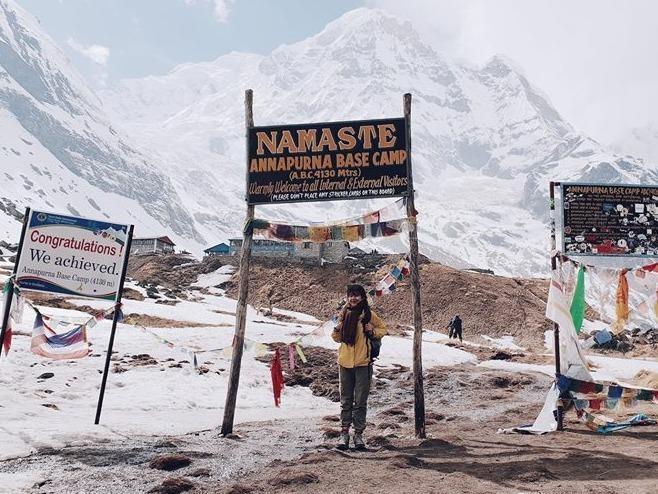 Kinh nghiem dang gia khi kham pha Nepal trong 13 ngay cua co gai 9X hinh anh