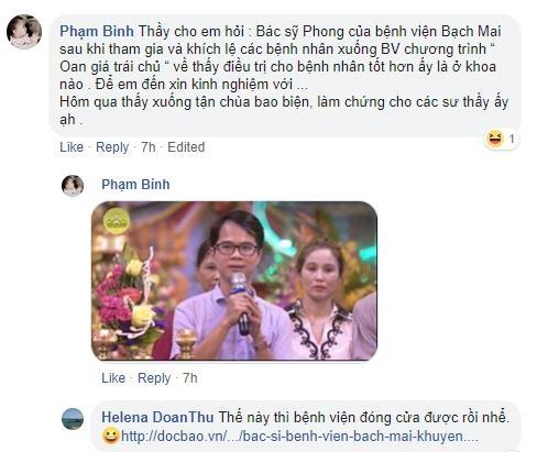 Thu truong Bo Y te: Khuyen benh nhan len chua chua benh la bay ba hinh anh 1