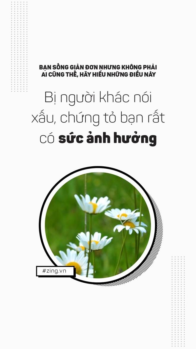 Ban song don gian, nhung khong phai ai cung nhu vay hinh anh 4