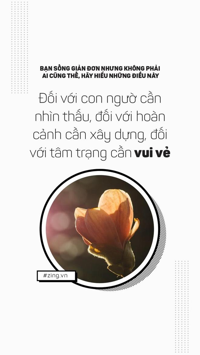 Ban song don gian, nhung khong phai ai cung nhu vay hinh anh 5
