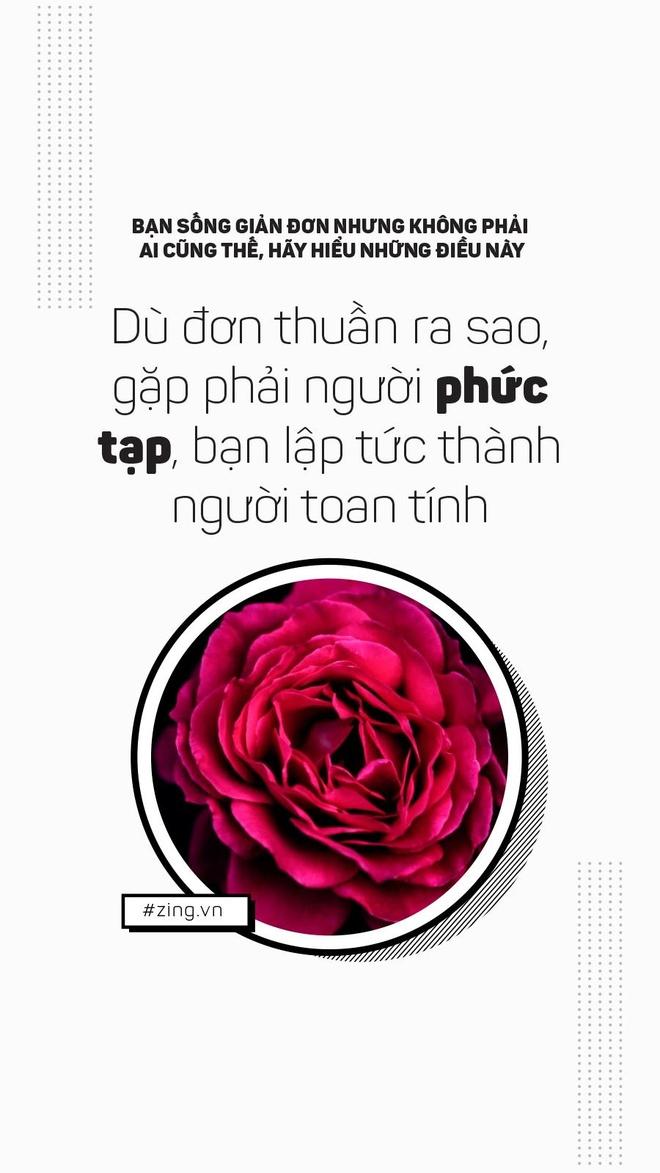 Ban song don gian, nhung khong phai ai cung nhu vay hinh anh 7